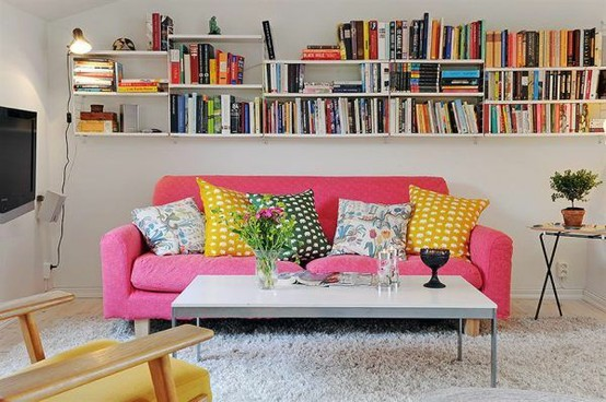 Bright eclectic furniture
