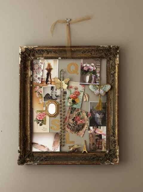 Simple framed inspiration.
