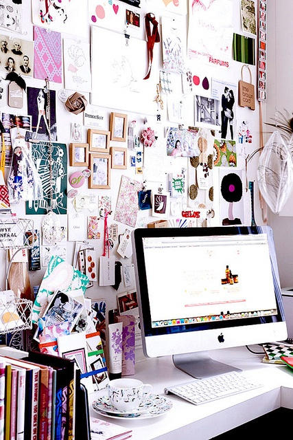 Originally sourced from http://www.thisisglamorous.com/2012/09/at-office-inspiration-boards.html