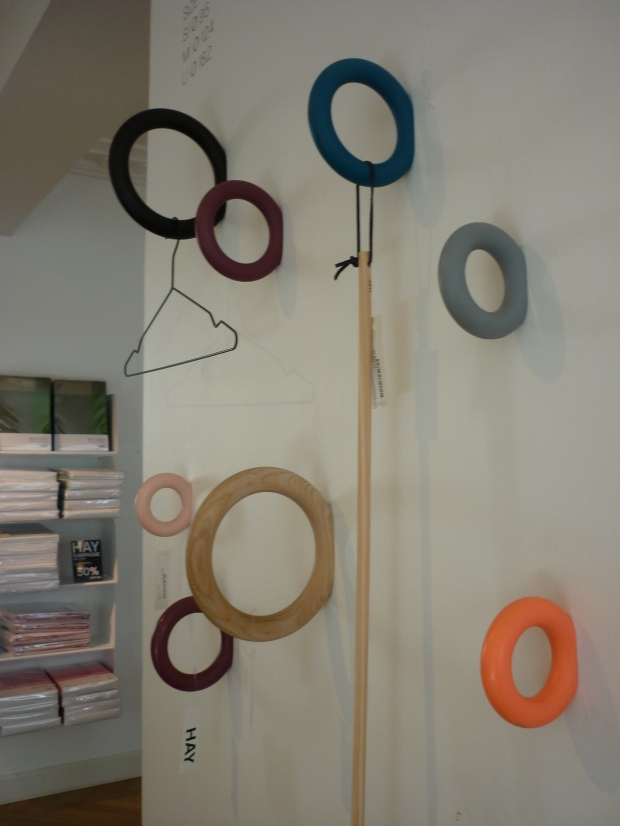Wall Hooks at the Hay House